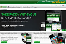 UK Mobile Bookmaker - PaddyPower