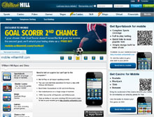 UK Mobile Betting - William Hill