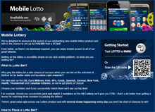 Mobile Lottery